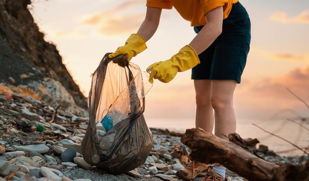 Ziemia naszym wspólnym domem –akcja sprzątania świata